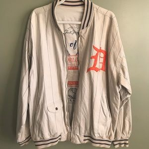 Ramie/Cotton blend Mirage Detroit Tigers Jacket